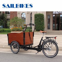 Popular In Market Classic Three Wheel Moped Cargo Tricycles
