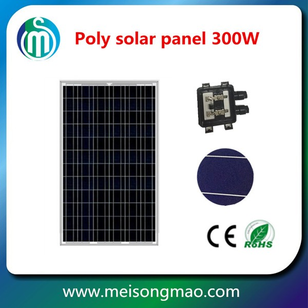 72 cell solar photovoltaic module 300 watt solar panel 10kw solar panel system