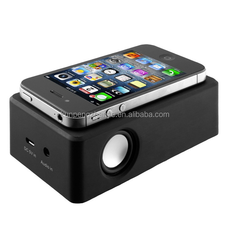 Portable Rechargeable Wireless Induction Speaker