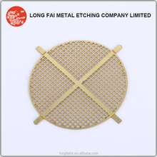 OEM precise chemical etching speaker grill sheet metal
