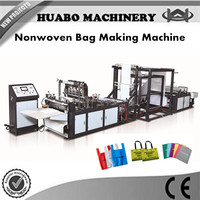 Ultrasonic Sealing Nonwoven Fabric Bag Making Machinery/Nonwoven D cut Bag Making Machine