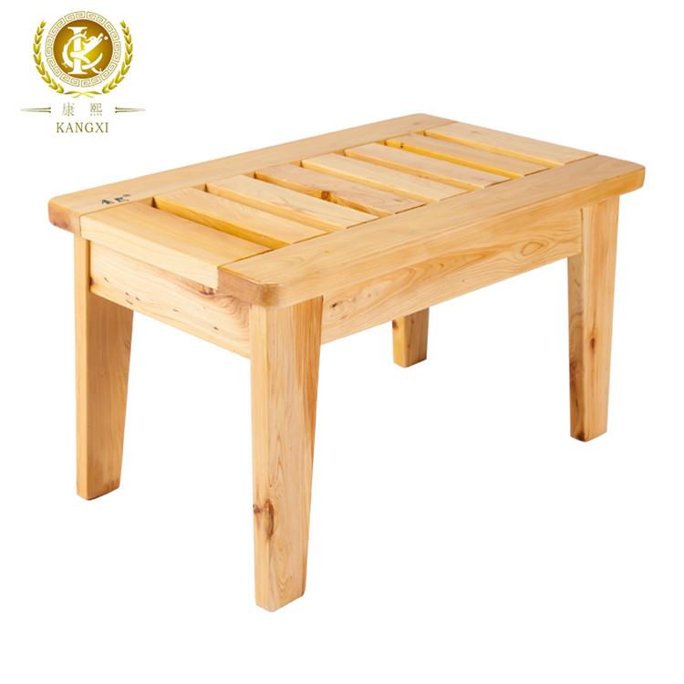 Tabouret Bois Douche en bois tabouret de douche utilisé matériau respectueux de l