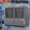 Large capacity Deron EVI heat pump water heater air to water for low ambient temp. cold weather