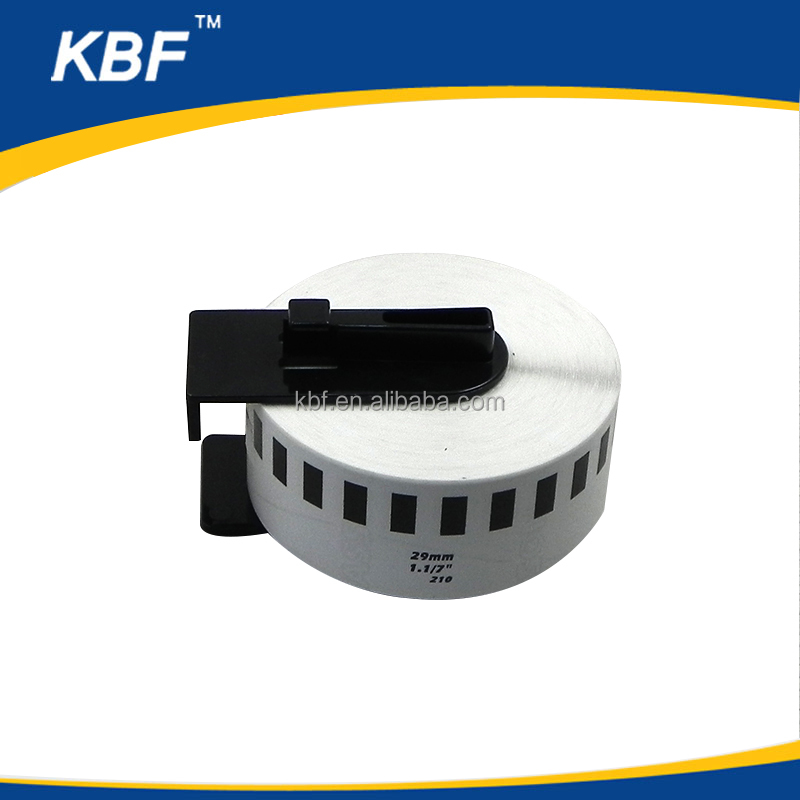 Factory direct selling Compatible Brother label tape continous DK22210/DK-22210/DK2210 thermal paper roll