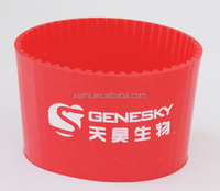 active demand printed chinese bright red silicone cup case