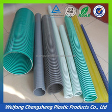 PVC water suction flexible hardening pvc water suction hose