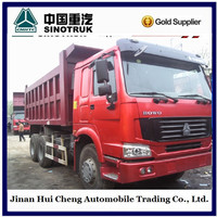 HOWO 6X4 30ton used dump truck for sale