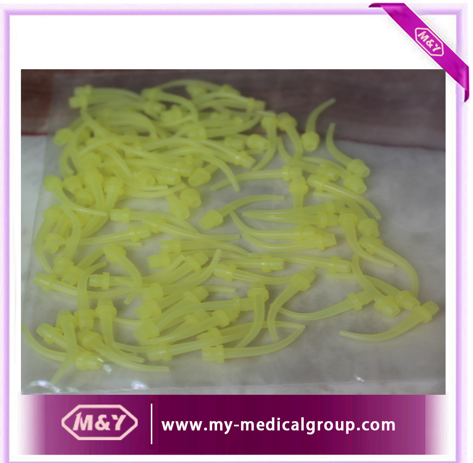 High Quality Dental Intral-Oral Tip / Dental Rubber Mix Head Tip