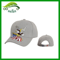 2015 new style embroidery sports caps flag usa baseball caps with eagle