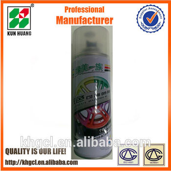 rubber spray paint film for car wheel