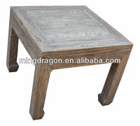 Chinese Antique Reclaimed Antique Living Room Wood End Table