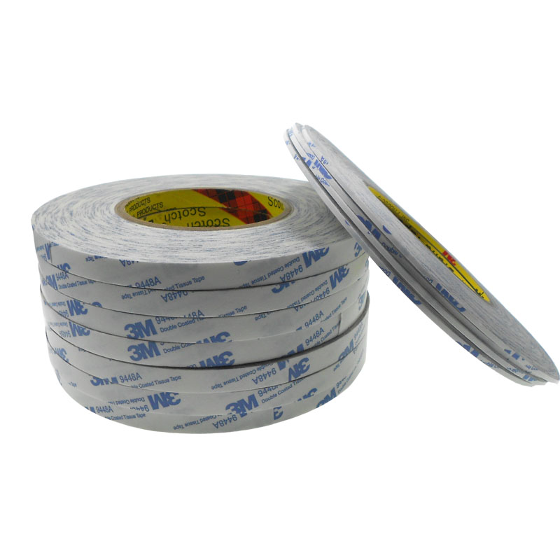 Wholesale High Adhesion Double Sided Coated Tissue 3M 9448A Tape