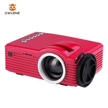 Owlenz cheapest Toy Projector SD20 Portable Mini pocket Size 400lumens AV USB TF HDMI Build