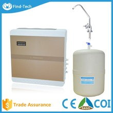 Domestic ro water filter system reverse osmosis membrane price with alkaline water purifier machine Malaysia wall-mounted