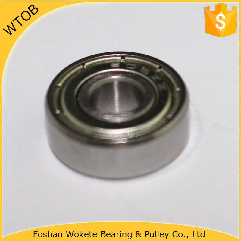 Chrome Steel High Speed 606zz Deep Groove Ball Bearing For Road Bike Spare Parts