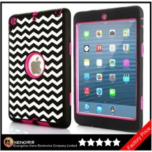 Keno Shockproof Tablet Case, Hybrid Protective Case Combo Defender Armor Case for iPad Mini / Mini 2 with Retina Display