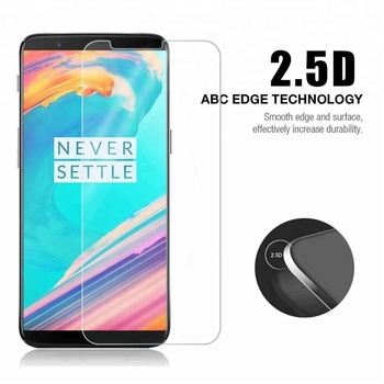 Anti shock and scratch 9h tempered glass protector for oneplus 2 3 5,for oneplus 3t screen protector 9h tempered glass
