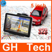 5 inch gps car navigation system with lifetime free map update