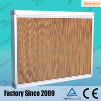 7090 industry pig farm equipment evaporative cooling cellulose pad cooler