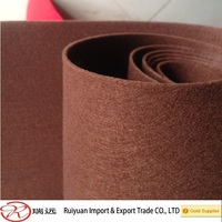 needle reinforced 100% polyester color felting