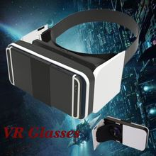 "2016 White goggle glasses VR, Newest 3D VR Headset DIY Glasses Virtual Reality BOX II Kit For All 4.7""-5.5"" Smartphone"