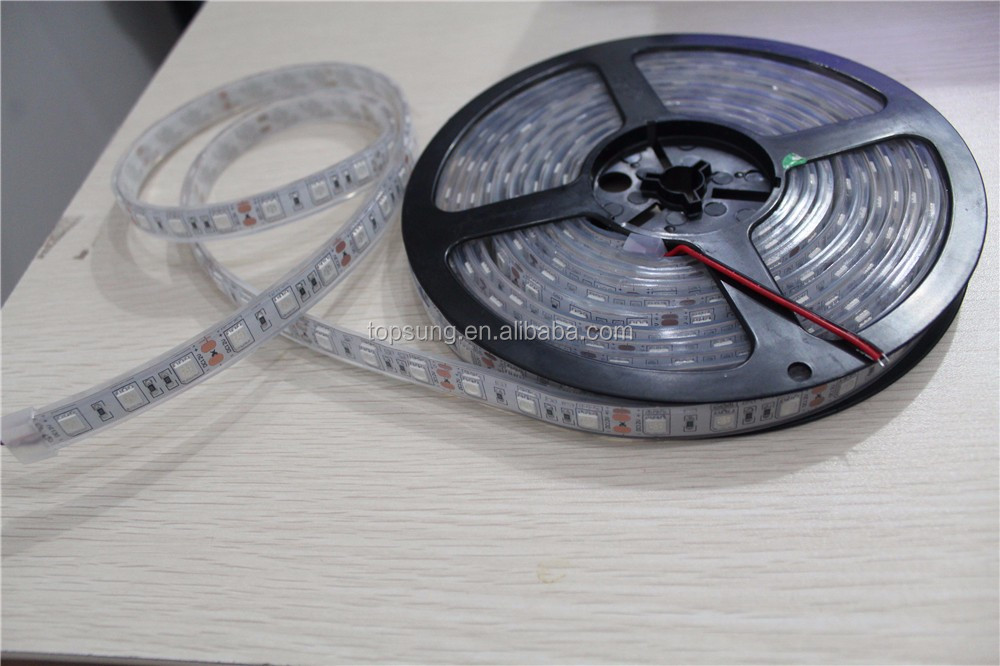 5m/roll 14.4w/m IP33 IP65 PI68 low voltage continuous length flexible led light strip