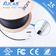Aucas Brand Braided Flat Network Cable Braided RJ45 Cat 7 Ethernet Cord Cables