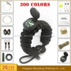wholesale paracord bracelet fire /making a survival bracelet with buckle
