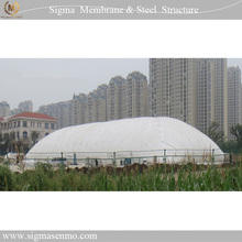 Outdoor inflatable membrane buildings air badminton/basketball court/soccer/tennis/volleyball dome tent