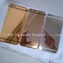 New 24kt customized crystal Housing for iPhone 6 gold housing 24k gold