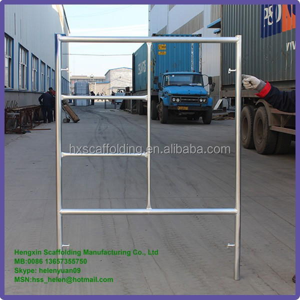 narrow scaffold frame
