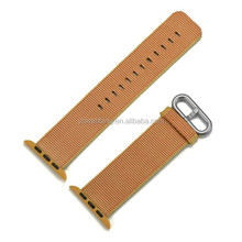 YH90 38mm 42mm band for watch series 1 2 woven nylon band strap for Watch colorful pattern classic buckle
