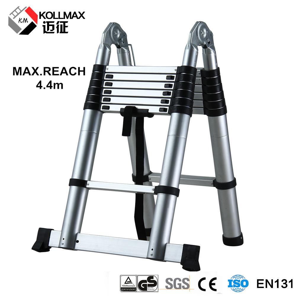 14 Aluminum Extension Ladder : M treads aluminum extension transformer used