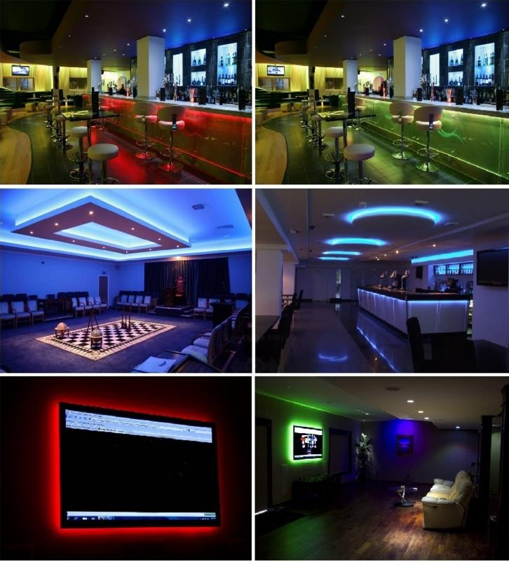 Programmable Led Edit Software Full Color 300leds Light 5050 Led Digital Strip With CE ROHS