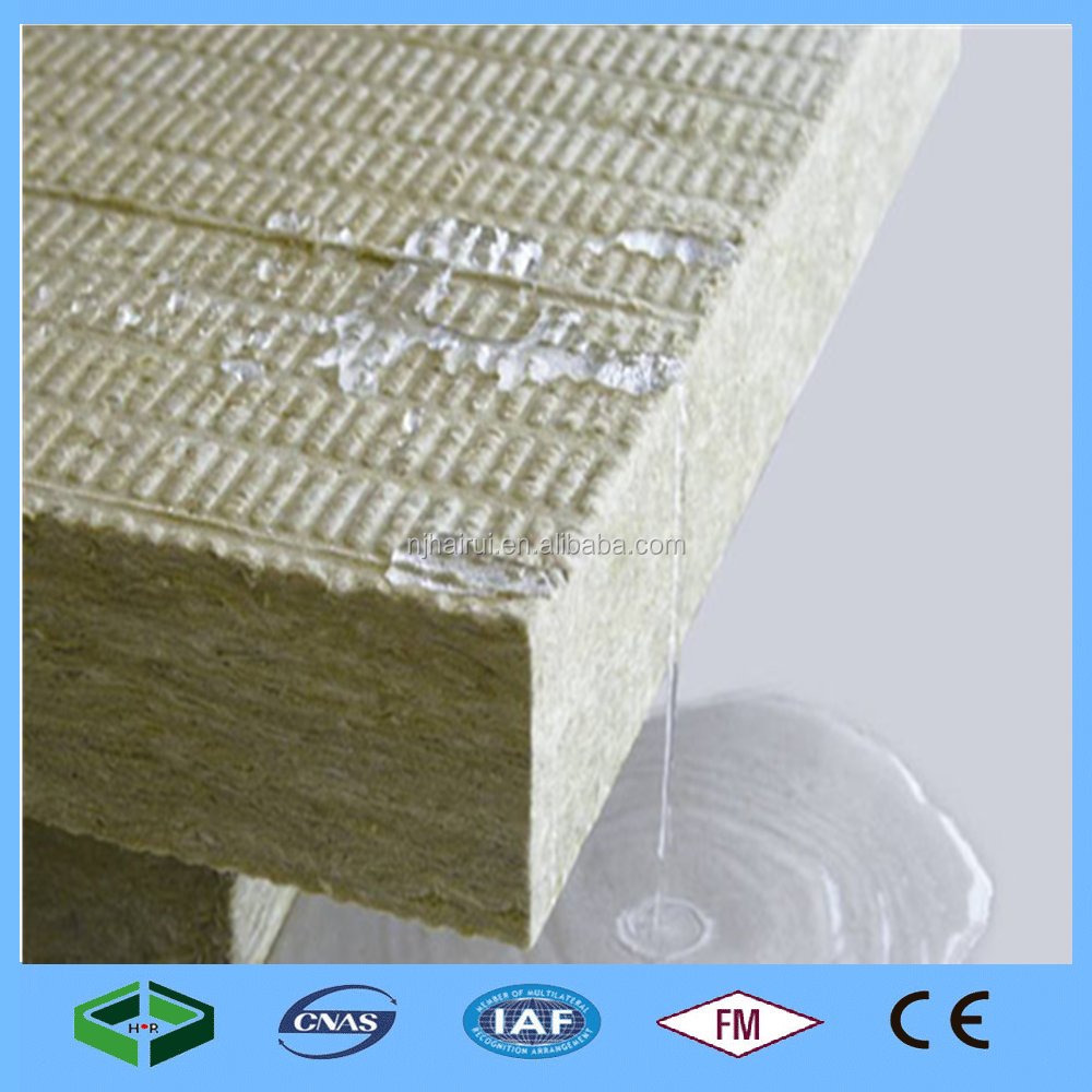 150mm Non-Combustible Materials Rockwool Insulation Panel Price