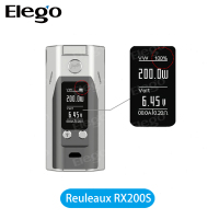 New Products 2016 Newest Wholesale Wismec Reuleaux 200S Wismec RX200S VS wismec reuleaux dna200