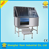 YM-XY-004A Stainless steel most popular dog grooming bath tub