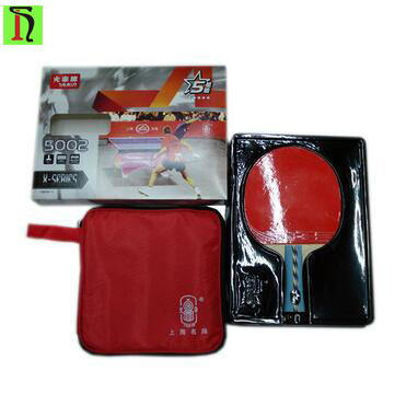 5 star professional racquet sports match level ping pong paddle for attack type player long handle table tennis racket