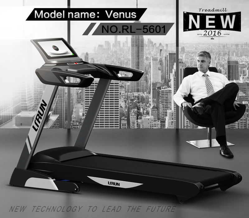 Hot selling running track machine 4.0HP Treadmill factory