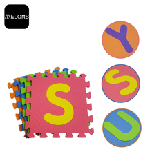 Melors Wholesellers EVA Foam Educational Toys Alphabet Puzzle Mat For Kids