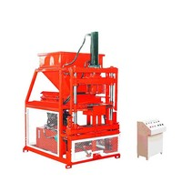 Low Price Hby2-10 Fully Automatic Clay Soil Interlocking Block Brick Machine Price