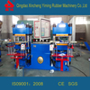 Rubber vulcanizing molding press machine for making silicone rubber products