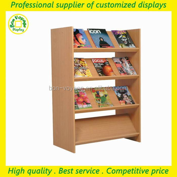 retailers general merchandise wooden shop display book racks