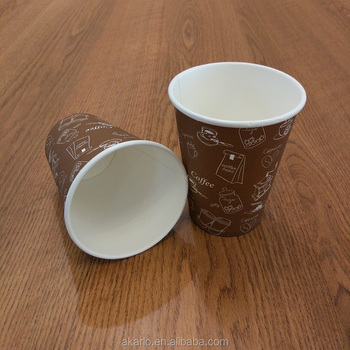 cups coffee disposable paper cup with lids