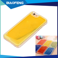 China 2016 new products mobile accessories phone case can grow in the dark beauty luminous liquid case