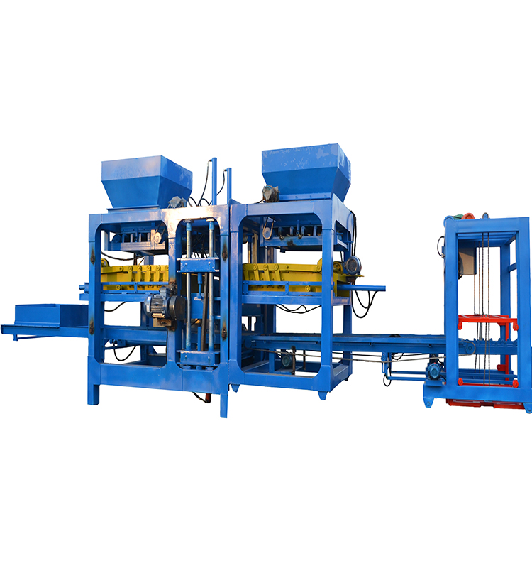 QT18-15The latest development of a new type of brick making machine has the advantages of 0.5 seconds faster than the old brick