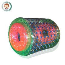Fun play large inflatable water roller inflatable ball water roller for sale