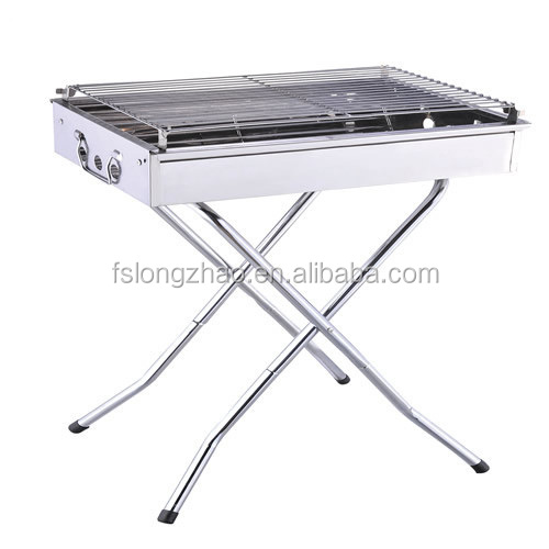 OEM stainless steel outdoor portable korean electric bbq grill/folding legs
