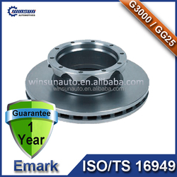 European Actros & Atego Trailer Axle and Parts Brake Rotor, Vehicle Disc Brake with OEM 9424212112 9424211212 9424210912