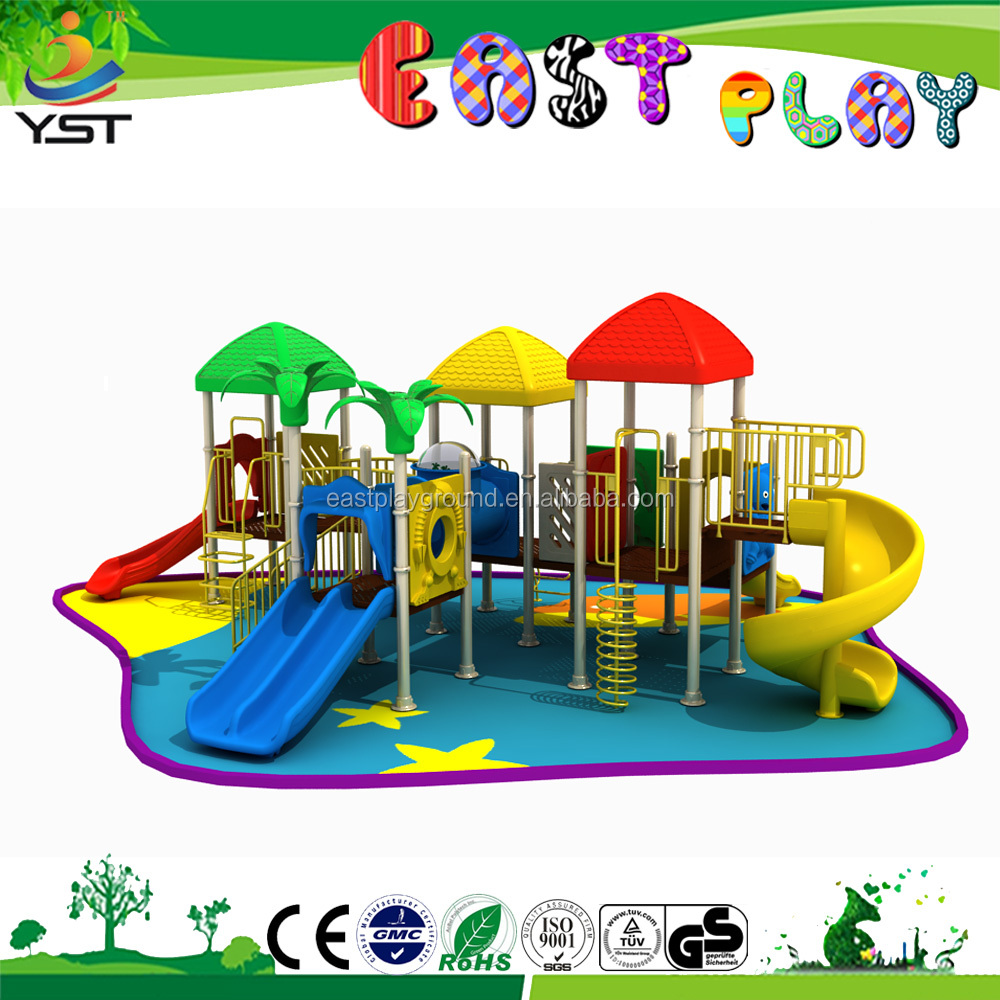 The playground for plastic garden kids outdoor games